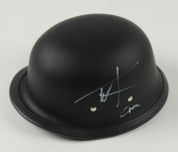"Ryan Hurst & Tommy Flanagan Signed ""Sons of Anarchy"" Biker Helmet Inscribed ""Opie"" & ""Chibs"" (Radtke COA) at PristineAuction.com"
