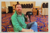"Ryan Hurst Signed ""Sons of Anarchy"" Biker Helmet Inscribed ""Opie"" (Radtke COA) at PristineAuction.com"