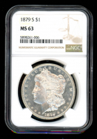 1879-S $1 Morgan Silver Dollar (NGC MS63) at PristineAuction.com