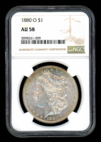 1880-O $1 Morgan Silver Dollar (NGC AU58) at PristineAuction.com
