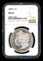 1880-S $1 Morgan Silver Dollar (NGC MS62) at PristineAuction.com