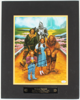 """Mickey Carroll Signed """"Wizard Of Oz"""" 16x20 Custom Matted Photo Display Inscribed """"Follow The Yellow Brick Road"""" (JSA COA) at PristineAuction.com"""