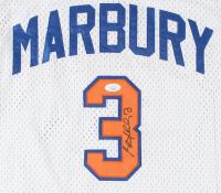 "Stephon Marbury Signed Knicks ""Starbury"" Jersey (JSA COA) at PristineAuction.com"