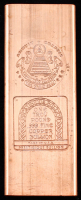 One Pound .999 Fine Copper Bullion Bar at PristineAuction.com