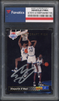 Shaquille O' Neal Signed 1992-93 Upper Deck Draft Pick RC #1 (Fanatics Encapsulated) at PristineAuction.com