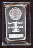 1 Troy Ounce .999 Fine Silver Bullion Bar at PristineAuction.com