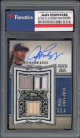 Alex Rodriguez 2020 Topps Sterling Sterling Swings Relic Autographs Blue #SWARAR #4/10 (Fanatics Encapsulated) at PristineAuction.com