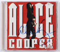 "Alice Cooper Signed ""Alice Cooper Live"" CD Album Case (JSA COA) at PristineAuction.com"