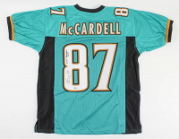 "Keenan McCardell Signed Jersey Inscribed ""16373 Receiving Yards"" (Beckett COA) at PristineAuction.com"
