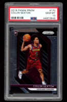 Collin Sexton 2018-19 Panini Prizm #170 RC (PSA 10) at PristineAuction.com