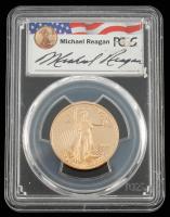 2001-W Gold Eagle Reagan Legacy Series (PCGS PR69) at PristineAuction.com