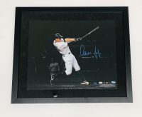 Aaron Judge Signed LE Yankees 11x14 Custom Framed Photo Display (Fanatics Hologram & MLB Hologram) at PristineAuction.com