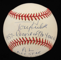 Tony Kubek Signed OML Baseball With Multiple Inscriptions (JSA COA) at PristineAuction.com