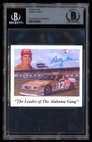 Bobby Allison Signed 3.5x4 Promo Card (BGS Encapsulated) at PristineAuction.com