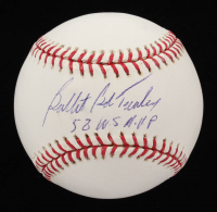 """""""Bullet"""" Bob Turley Signed OML Baseball Inscribed """"58 W.S. M.V.P."""" (Stacks of Plaques COA) at PristineAuction.com"""