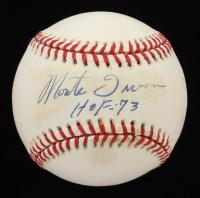 "Monte Irvin Signed OML Baseball Inscribed ""HOF 73"" (PSA COA) at PristineAuction.com"