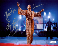 "Ric Flair Signed WWE 8x10 Photo Inscribed ""Wooooo"" & ""Pretty Boy"" (JSA COA) at PristineAuction.com"