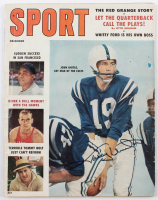 "Johnny Unitas Signed ""Sport"" Magazine with Autograph Ticket (JSA COA) at PristineAuction.com"