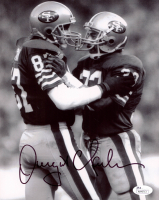 Dwight Clark Signed 49ers 8x10 Photo (JSA COA) at PristineAuction.com