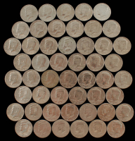Lot of (50) Kennedy Half Dollars with (10) Bicentennials at PristineAuction.com