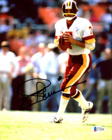 Joe Theismann Signed Redskins 8x10 Photo (Beckett COA) at PristineAuction.com