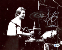"""Charlie Watts Signed 8x10 Photo Inscribed """"Thank You"""" (Beckett COA) at PristineAuction.com"""