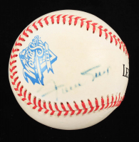 Willie Mays Signed 1999 World Series Baseball (Beckett COA) at PristineAuction.com