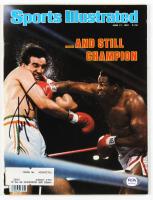 Larry Holmes Signed 1982 Sports Illustrated Magazine (PSA COA) at PristineAuction.com