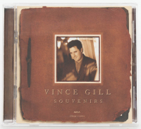 "Vince Gill Signed ""Souvenirs"" CD Record Album Cover (JSA COA) at PristineAuction.com"
