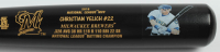 LE Christian Yelich Louisville Slugger Custom Engraved Baseball Bat at PristineAuction.com