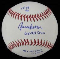 Bruce Sutter Signed OML Baseball with Multiple Inscriptions (JSA COA) at PristineAuction.com