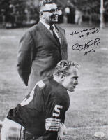 "Paul Hornung Signed Packers 11x14 Photo Inscribed ""The Man Was The Best"" & ""HOF 86"" (JSA COA) at PristineAuction.com"