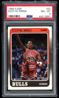 Scottie Pippen 1988-89 Fleer #20 RC (PSA 8) at PristineAuction.com