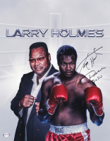 "Larry Holmes Signed 16x20 Photo Inscribed ""Peace 2020"" (PSA COA) at PristineAuction.com"