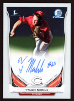Tyler Mahle 2014 Bowman Chrome Prospect Autographs #BCAPTMA at PristineAuction.com
