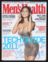 "Olivia Munn Signed ""Men's Health"" Magazine Inscribed ""Thanks For Saying Hi!"" (JSA Hologram) at PristineAuction.com"
