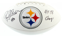 "Rocky Bleier Signed Steelers Logo Football Inscribed ""4x SB Champ"" (JSA COA) at PristineAuction.com"