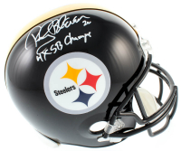 "Rocky Bleier Signed Steelers Full-Size Helmet Inscribed ""4x SB Champs"" (JSA COA) at PristineAuction.com"