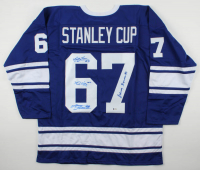 1962 Team-Signed Jersey by (4) Johnny Bower, Red Kelly, Bobby Baun & Larry Hillman (Beckett LOA) at PristineAuction.com