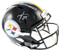 "Minkah Fitzpatrick Signed Steelers Full-Size Speed Helmet Inscribed ""Fitzmagic"" (Beckett COA) at PristineAuction.com"