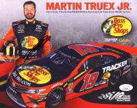 Martin Truex Jr. Signed 8x10 Photo Card (JSA COA) at PristineAuction.com