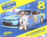 Dale Earnhardt Jr. Signed 8x10 Photo Card (JSA COA) at PristineAuction.com
