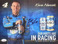 Kevin Harvick Signed 8.5x11 Photo Card (JSA COA) at PristineAuction.com