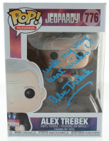 "Alex Trebek Signed ""Jeopardy"" #776 Funko Pop! Vinyl Figure Inscribed ""With My Very Best Wishes!"" (PSA Hologram) at PristineAuction.com"