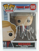 "David Spade Signed ""Tommy Boy"" Richard #505 Funko Pop! Vinyl Figure (PSA Hologram) at PristineAuction.com"