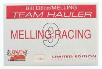 Bill Elliott LE #9 Melling Oil Pumps 1:64 Scale Die-Cast Hauler with #9 Legends Series 1:64 Scale Car at PristineAuction.com