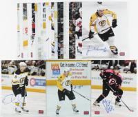 Lot of (24) Signed Bruins 8x10 Photos with Tuukka Rask, Adam McQuaid, Johnny Boychuk, Ryan Spooner (YSMS COA) at PristineAuction.com
