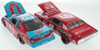 Lot of (2) 1:24 Scale Die-Cast Cars with Richard Petty #43 STP 2005 Charger & Kasey Kahne #9 Dodge Dealers / Swap 1975 Charger at PristineAuction.com