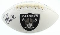 Tim Brown Signed Raiders Logo Football (Beckett COA) at PristineAuction.com