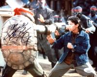 "Ernie Reyes Jr. Signed ""Teenage Mutant Ninja Turtles"" 8x10 Photo (JSA Hologram) at PristineAuction.com"